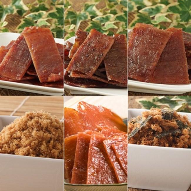 合口味肉品 現烤好滋味肉乾肉盒(6包)