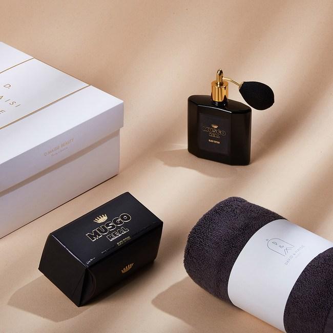CLAUS PORTO 經典黑瓶淡香水香氛皂禮盒(靜謐黑限定版)靜謐黑限定版