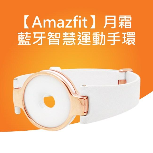 小米 Amazfit華米智慧手環-月霜白