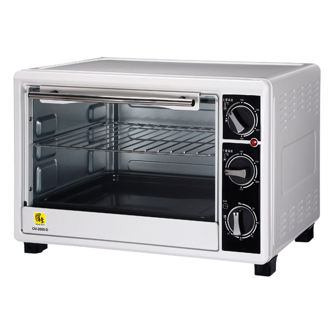 【鍋寶】26L雙溫控炫風電烤箱 OV-2600-D
