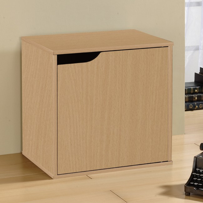 Hopma 百搭疊疊櫃-單門櫃(黃木紋)