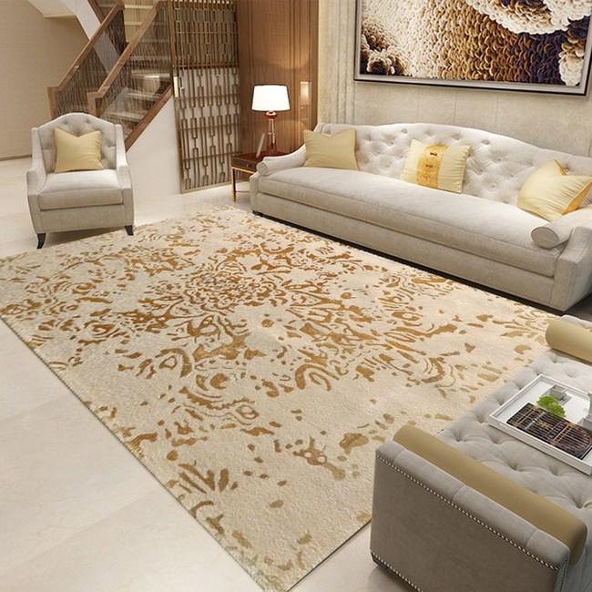 【YFS】金彩羊毛地毯160x230cm