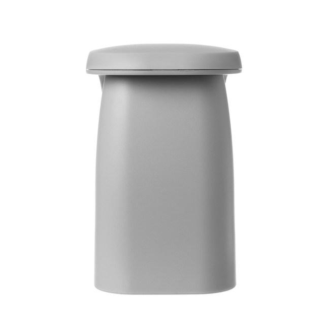 簡約磁吸式漱口杯-灰