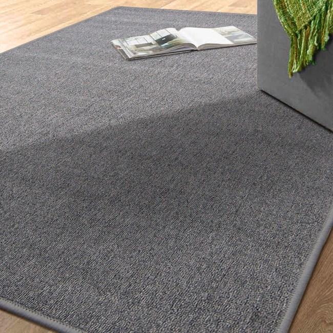 華爾街素面地毯105X156灰