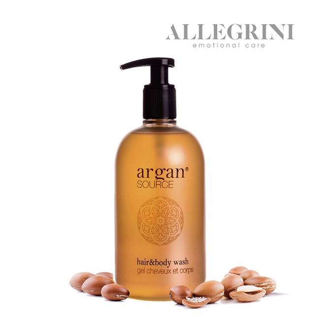 【ALLEGRINI艾格尼】ARGAN SOURCE髮膚清潔露500m