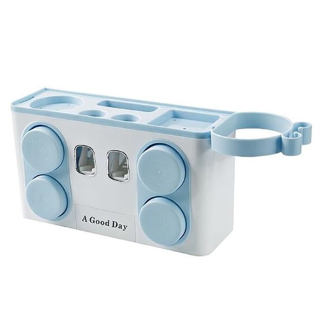 LOLAT多功能杯架-四杯組(藍色)A9470BP