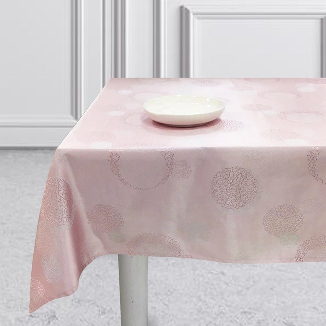 戀紫緹花桌巾140X195cm