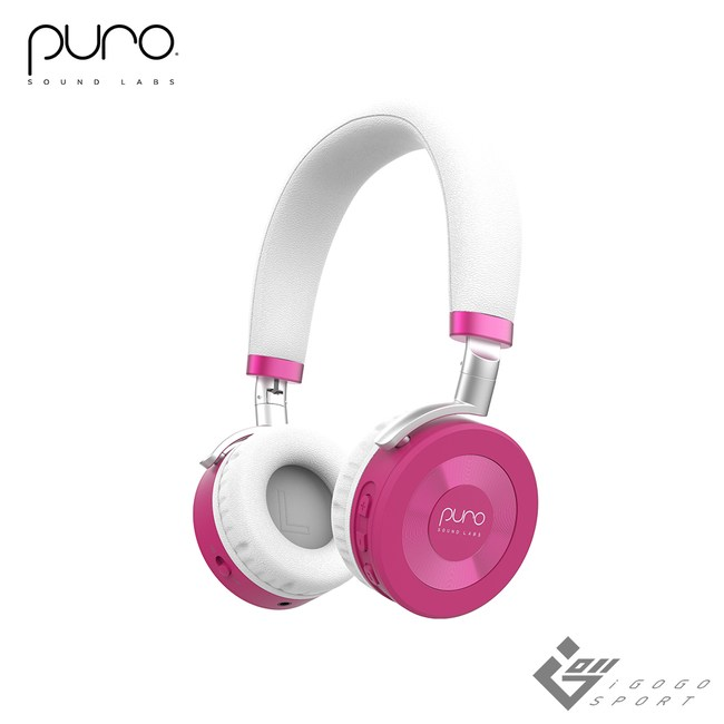 Puro JuniorJams 無線兒童耳機粉紅色