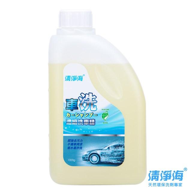 清淨海 環保洗車精2入1000g
