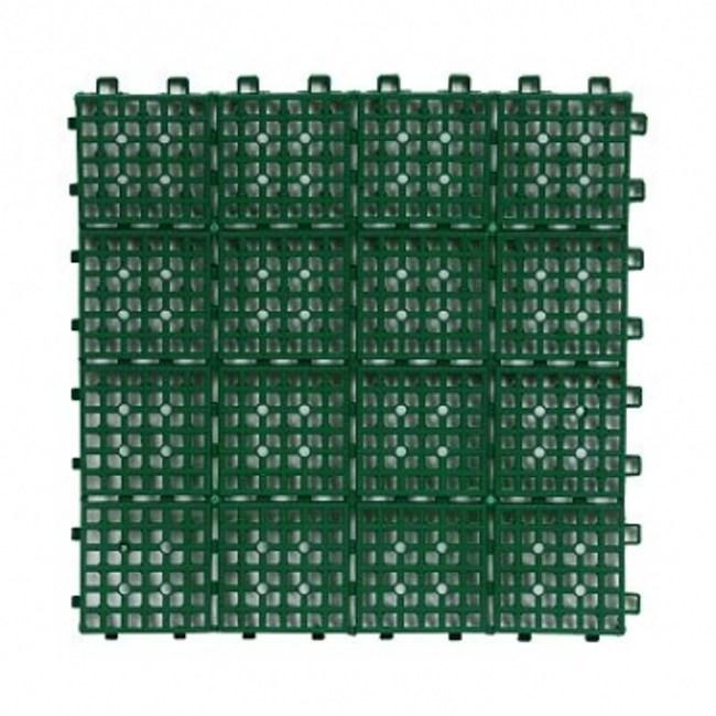 TM拼裝防滑地墊-綠色6片裝
