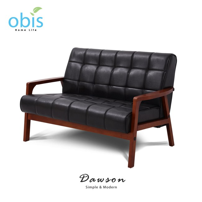 【obis】DAWSON 雙人舒適皮沙發