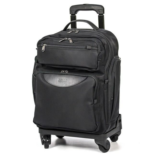 【YESON】16吋多層式拉桿登機箱行李箱(MG-986-16)MG-986-16-黑