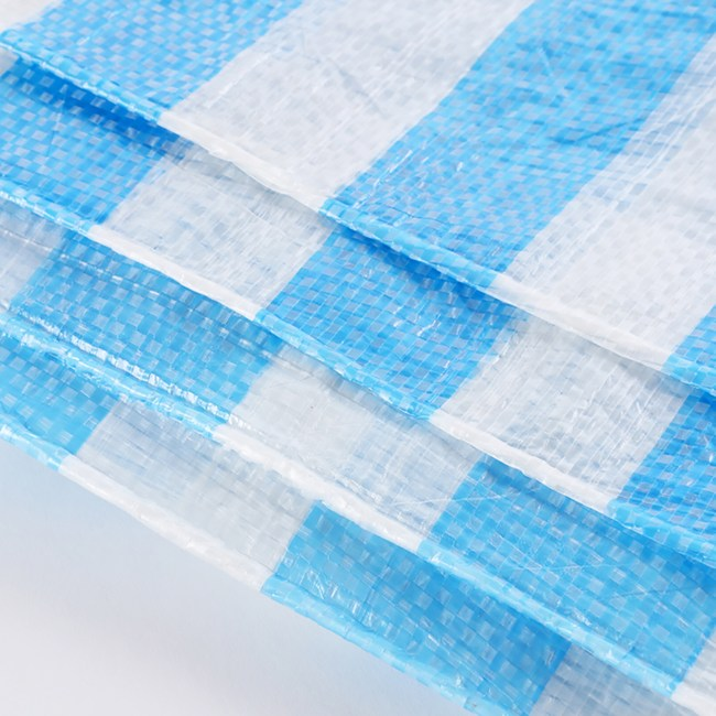 PE藍白防水帆布 16x16尺
