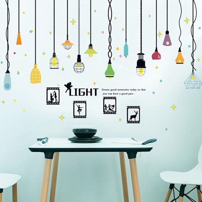 【Loviisa Light】無痕壁貼 壁紙