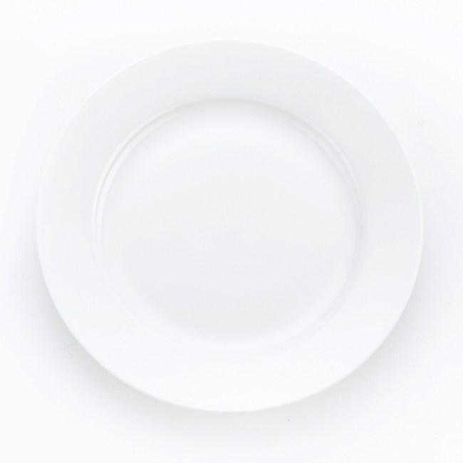 HOLA 緻白骨瓷平盤 15cm
