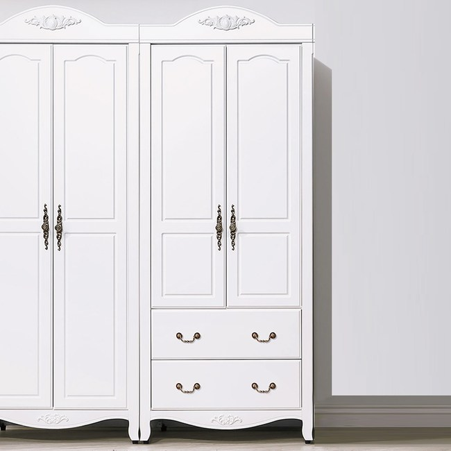 【YFS】瑪莎2.7尺二抽衣櫥-81*58*211cm