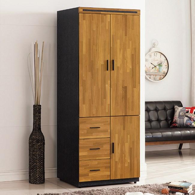 【YFS】艾倫2.6尺衣櫃-79x56x198cm