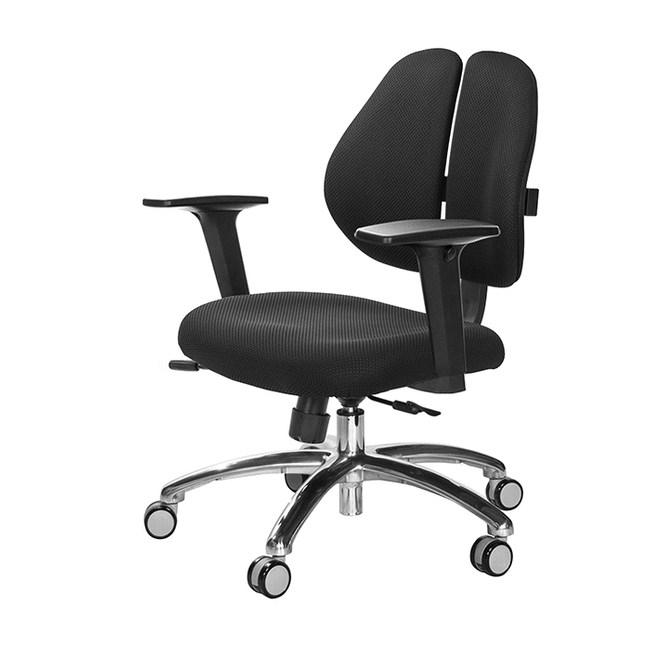 GXG 人體工學 雙背椅 (鋁腳/2D升降扶手) TW-2991LU2#訂購備註顏色