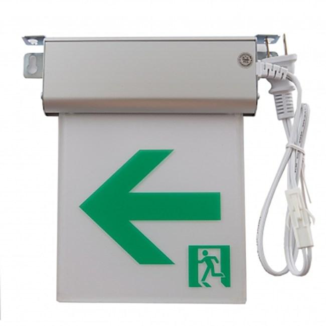 小型1:1 LED避難方向燈-左向