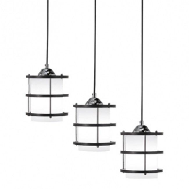 日式和風3燈餐吊燈 -長型