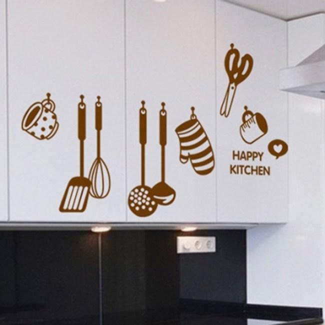 創意無痕壁貼 廚具