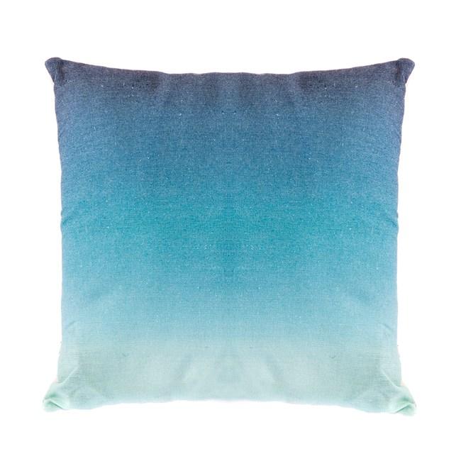 漸層系抱枕45x45cm 藍綠