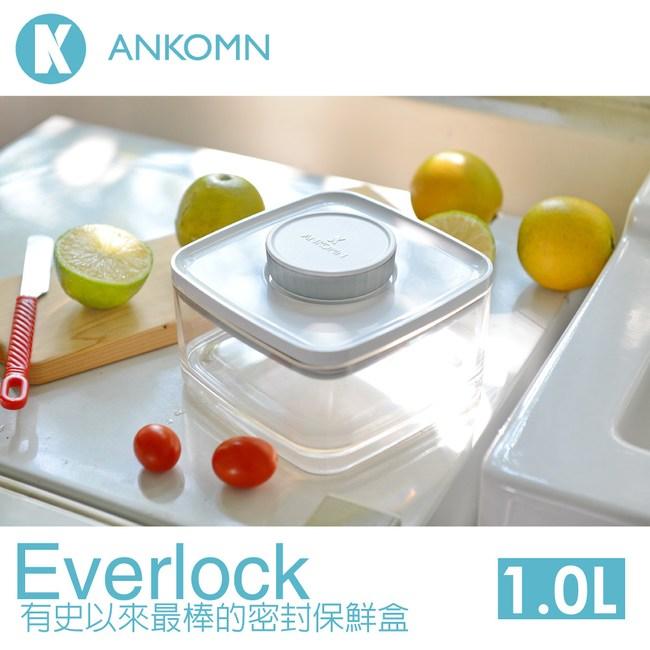 【ANKOMN】密封保鮮盒 1.0L-2入 (Everlock系列)