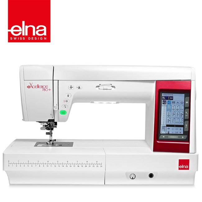 【瑞士 elna】電腦縫紉機 eXcellence 780+