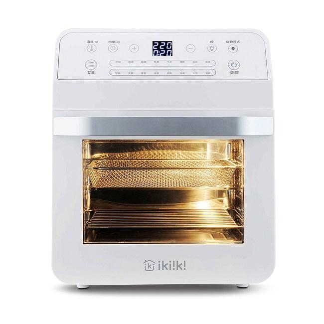IKIIKI智能氣炸烤箱(白)IK-OT3202
