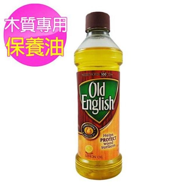美國 Old English 高級木質傢俱保養油-檸檬(16oz)*1
