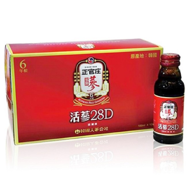 正官庄 活蔘28D 10入禮盒