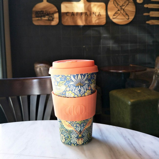 Ecoffee Cup 環保隨行杯-藝術聯名款14oz(採莓賊)