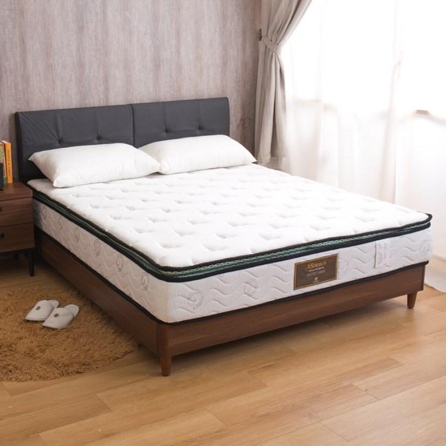 【YFS】奧蘿拉-冬夏兩用正三線特殊硬式雙人加大6尺彈簧床墊