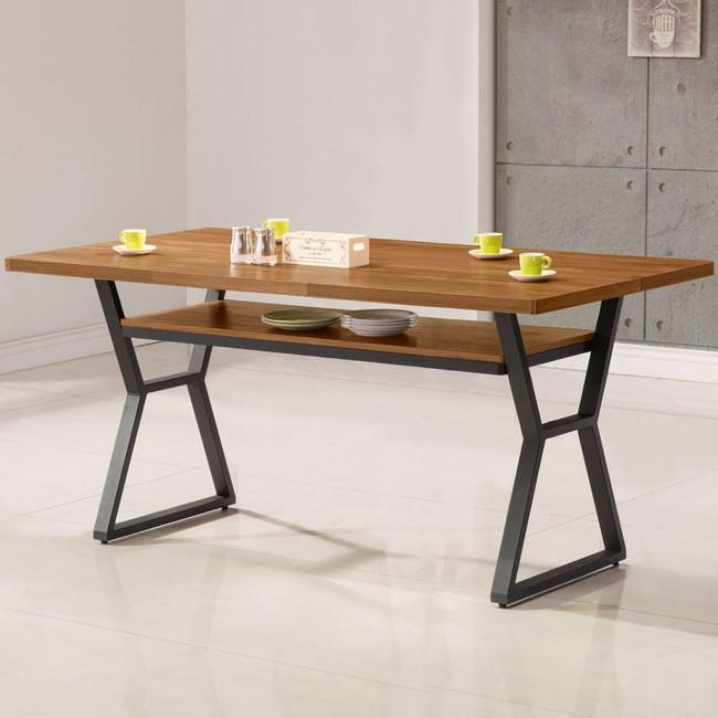 Homelike 肯納工業風5尺餐桌