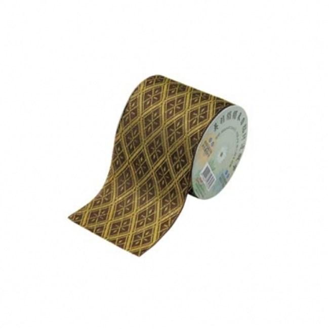 榻榻米封邊緞帶-金棕寬7.5cm