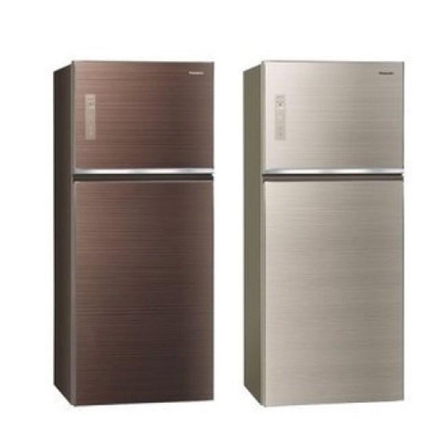 Panasonic國際牌 485公升 NR-B489TG 變頻雙門冰箱翡翠棕
