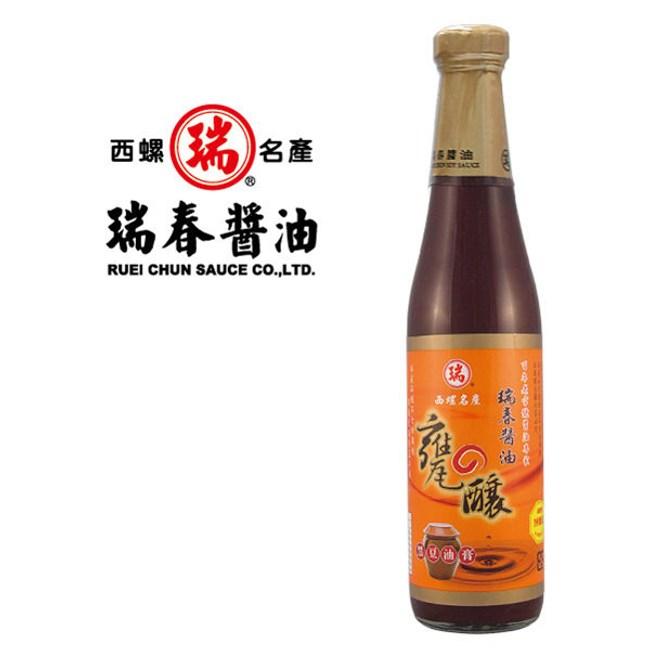 瑞春.甕釀黑豆油膏(十二瓶入)