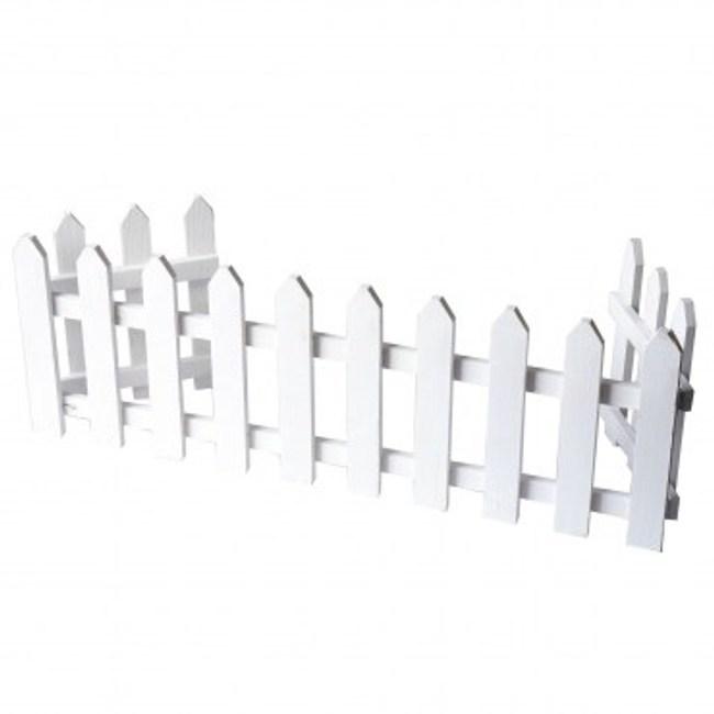 ㄇ型圍籬-白色146CM