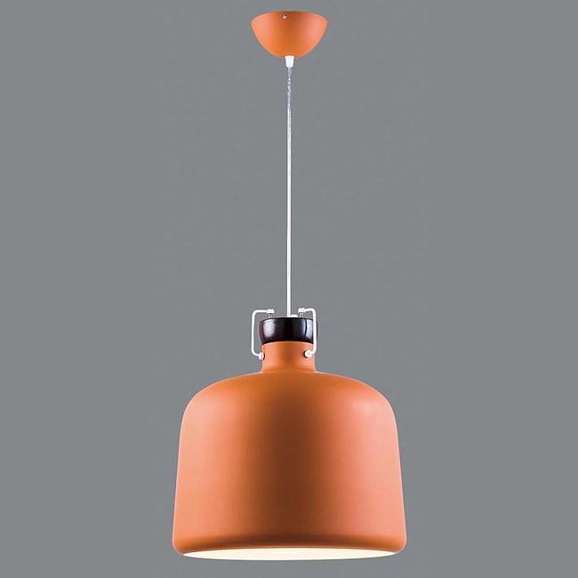 HONEY COMB 皮爾森單吊燈26公分BL91582/ 橘紅