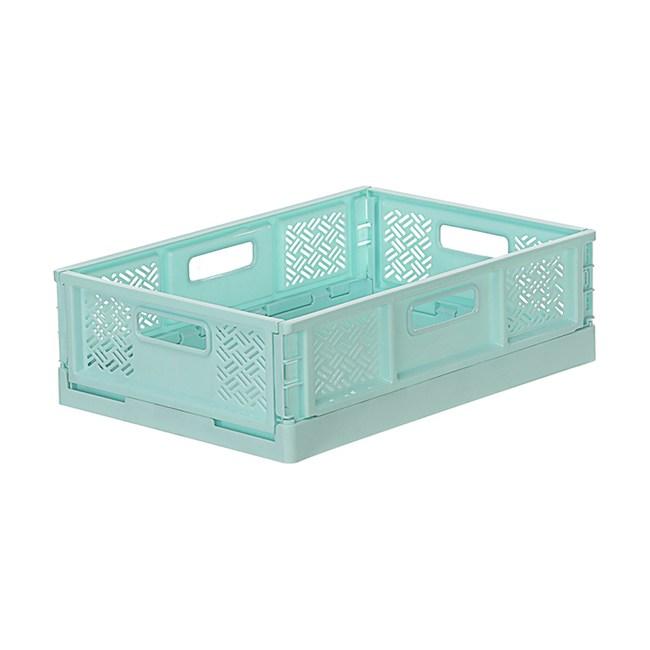 BQ540-2 箱根400型摺疊籃(水藍)