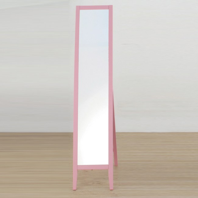 【YFS】肯恩直立式實木立鏡-31x44x140cm(兩色可選)粉