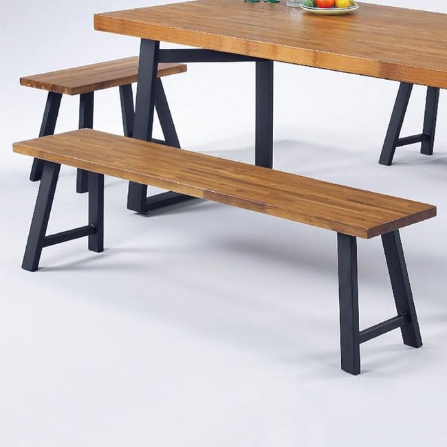 【YFS】里恩柚木實木長板凳-160x30x45cm
