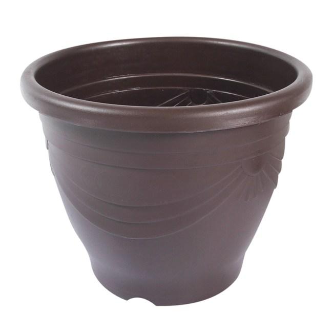 Luder 歐式花盆1尺2吋 (咖啡)