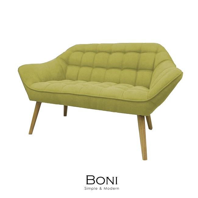 【obis】Boni博尼雙人沙發(三色)芥黃