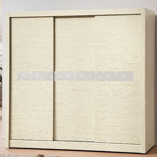 【YFS】科林7尺雪松拉門衣櫃-211x60x203cm