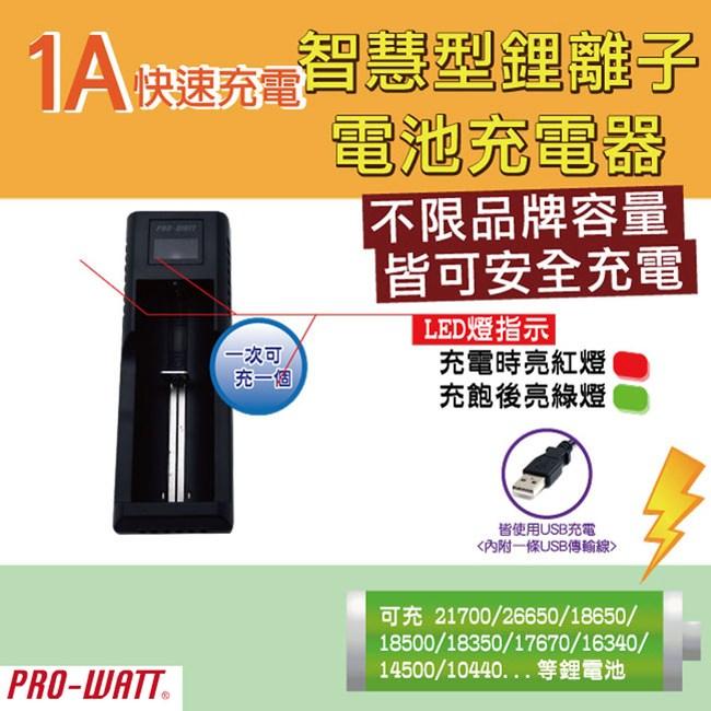 RO-WATT智慧型鋰電池雙孔充電器(ZL113E)