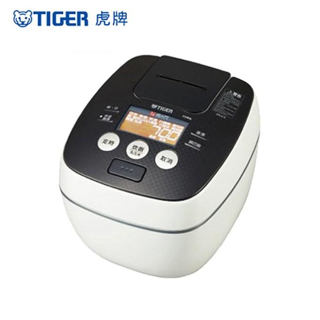 【TIGER虎牌】10人份可變式雙重壓力IH炊飯電子鍋(白色) JPB-G18R