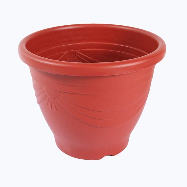 Luder 歐式花盆1尺2吋 (紅)