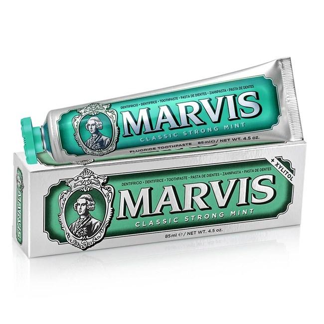 【MARVIS】義大利原裝進口牙膏系列(85ml)-經典薄荷*6