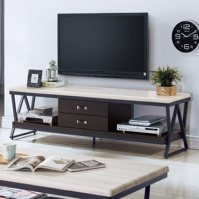 【YFS】蜜雪兒玫瑰6尺電視櫃-180x52x40cm